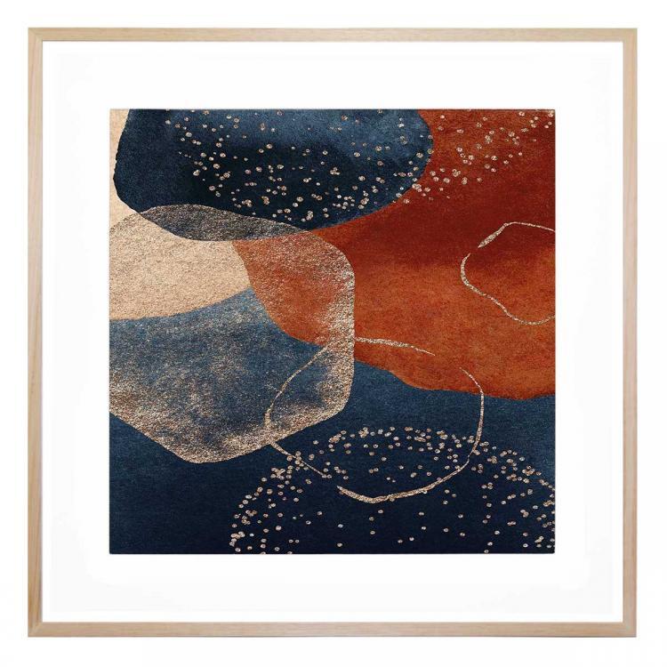 Cognac Blue - Print