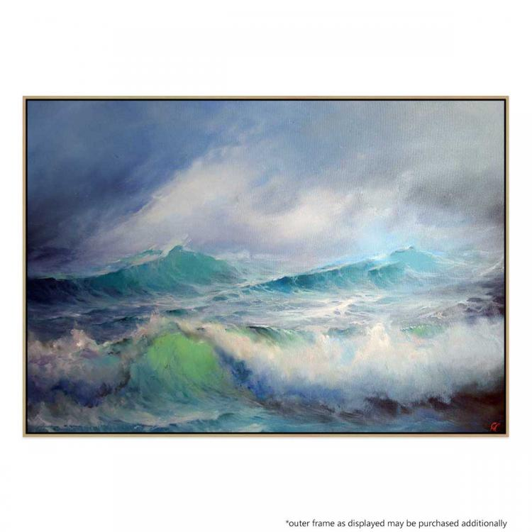 Stormy Weather - Painting