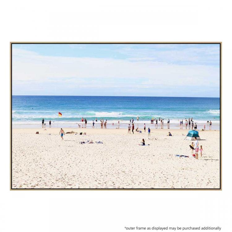 A Day At The Beach - Print