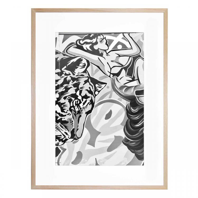 Mono Street Art 1 - Print