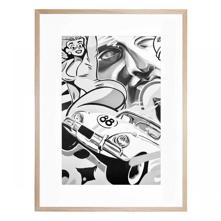 Mono Street Art 2 - Print