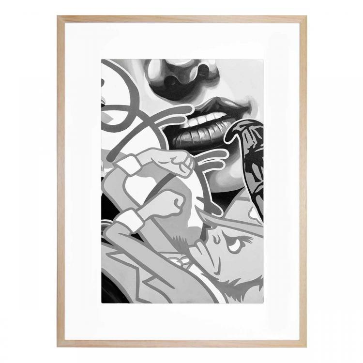 Mono Street Art 3 - Print