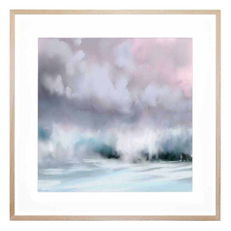 And The Storm - Print