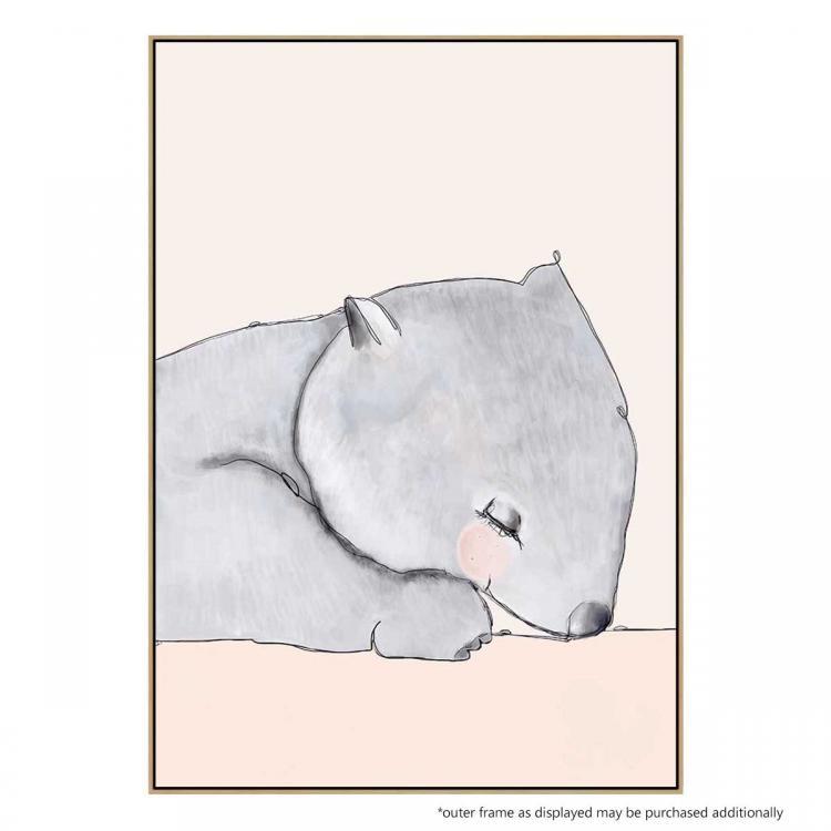 Winslow The Wombat - Print