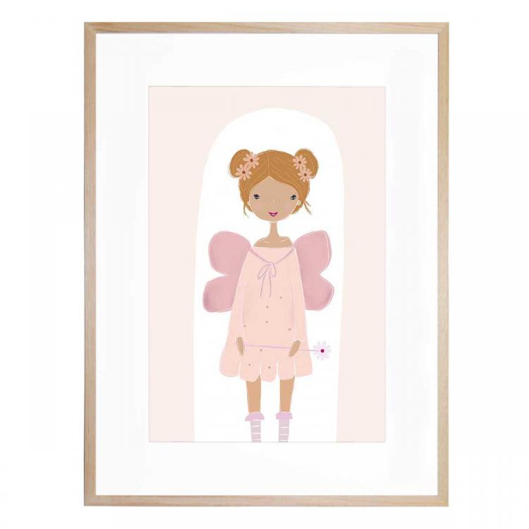 Daisy Bloom Fairy - Print