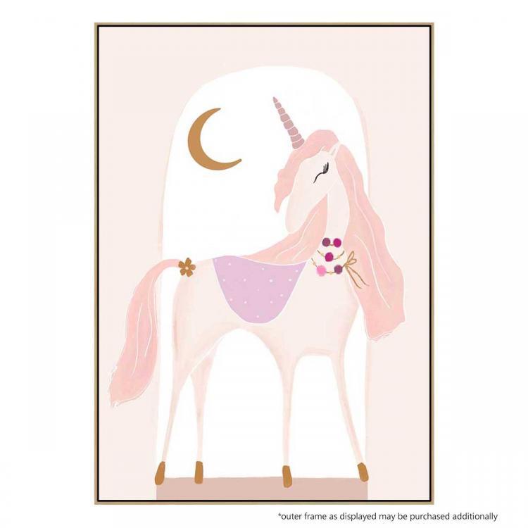 Luna The Unicorn - Print