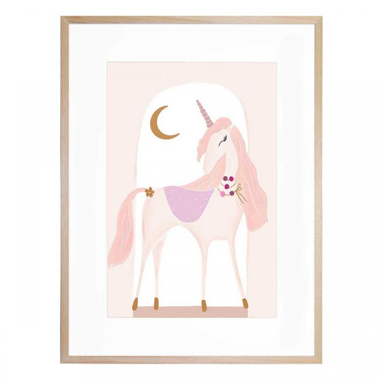 Luna The Unicorn - Print