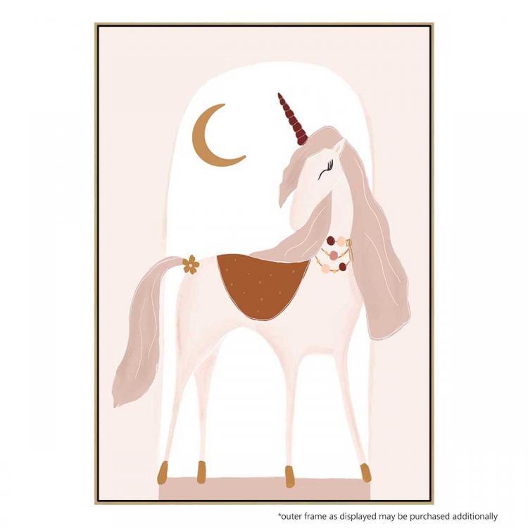 Luna The Unicorn II -Print