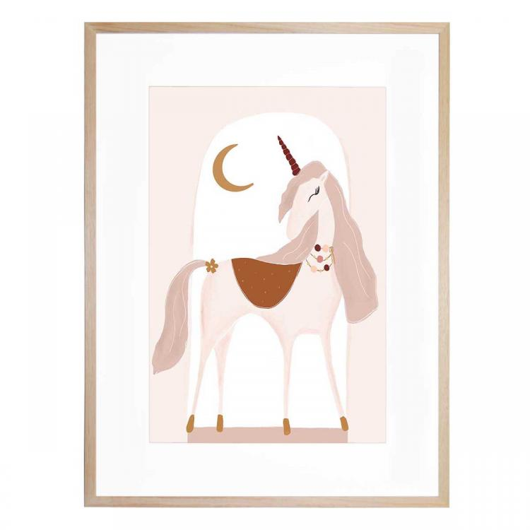 Luna The Unicorn II -Print