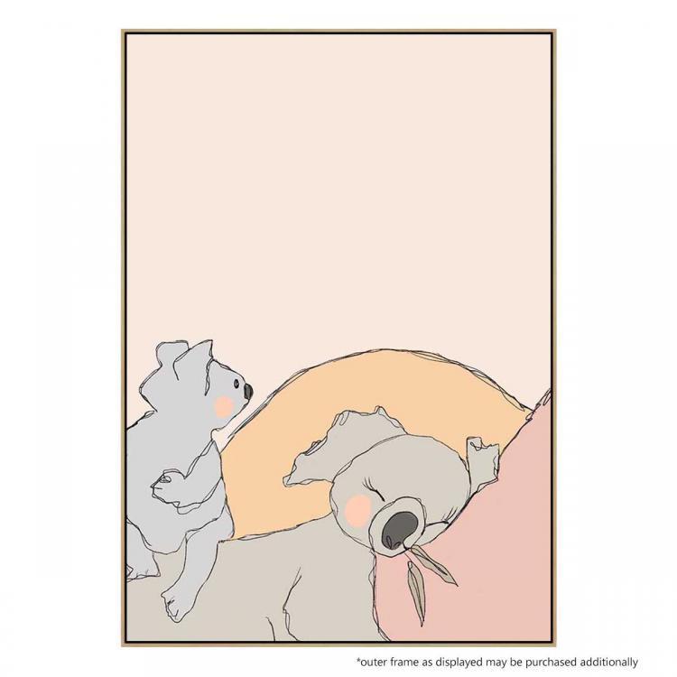 Sleepy Koala - Print