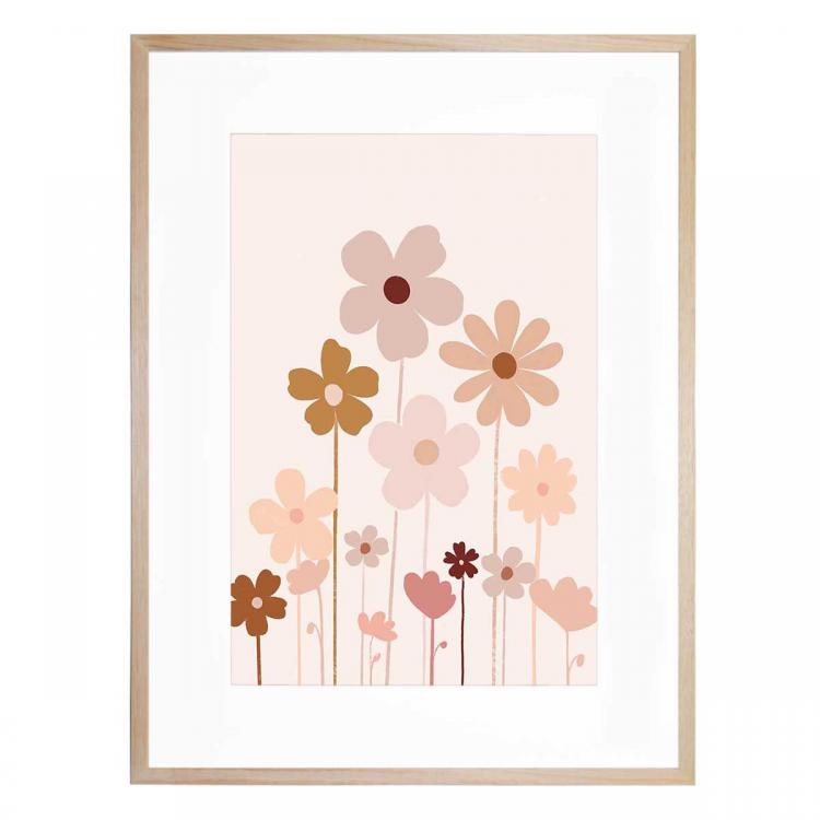 Portrait Wildflowers - Print