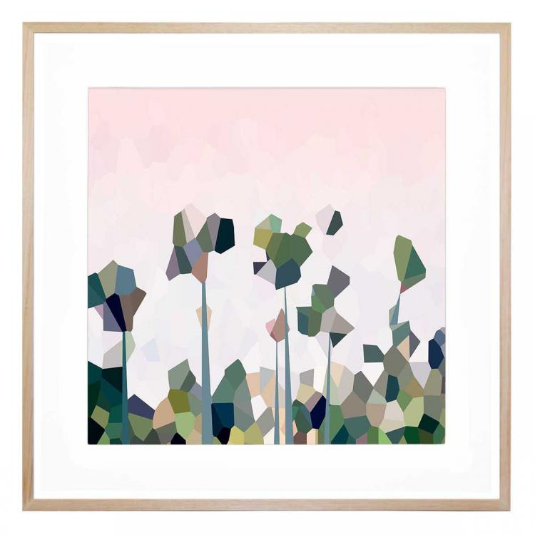 Malibu Palms - Print