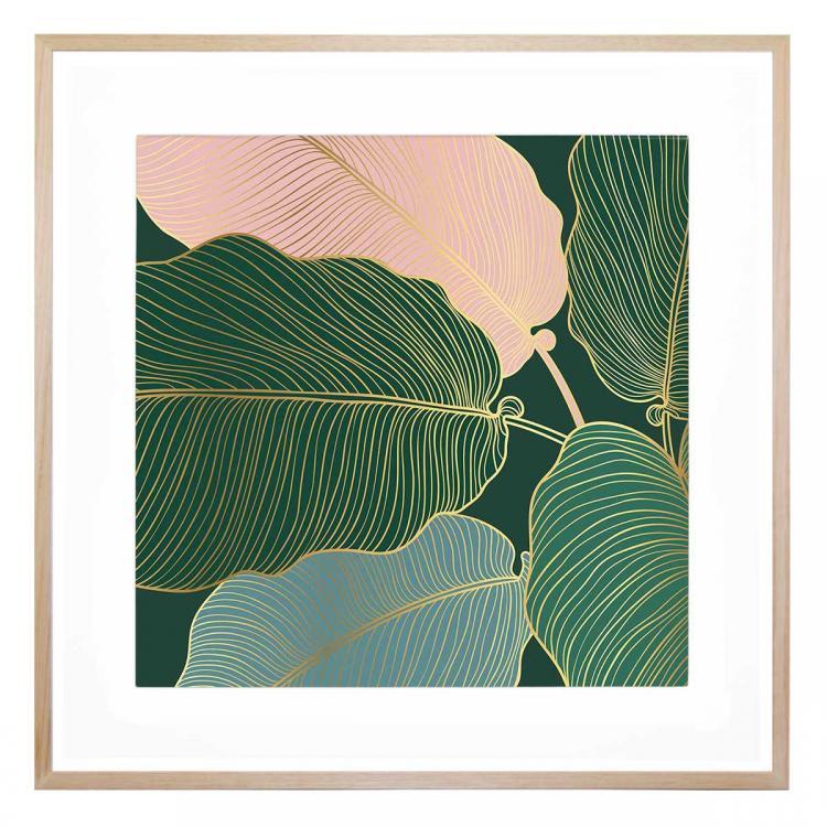 Flora Spatiale 1 - Print