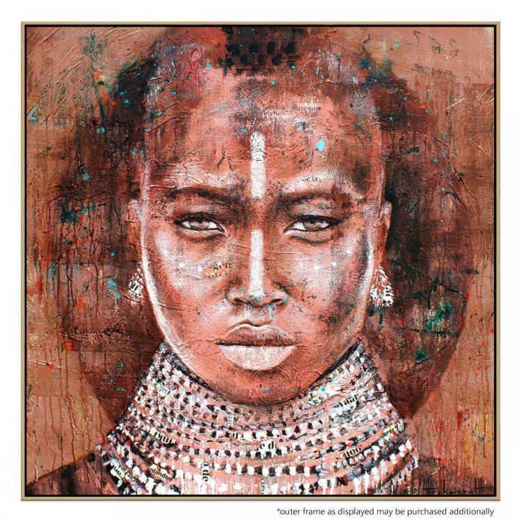 Tribal Woman 2 - Print
