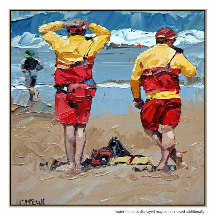 Two Lifeguards - Print