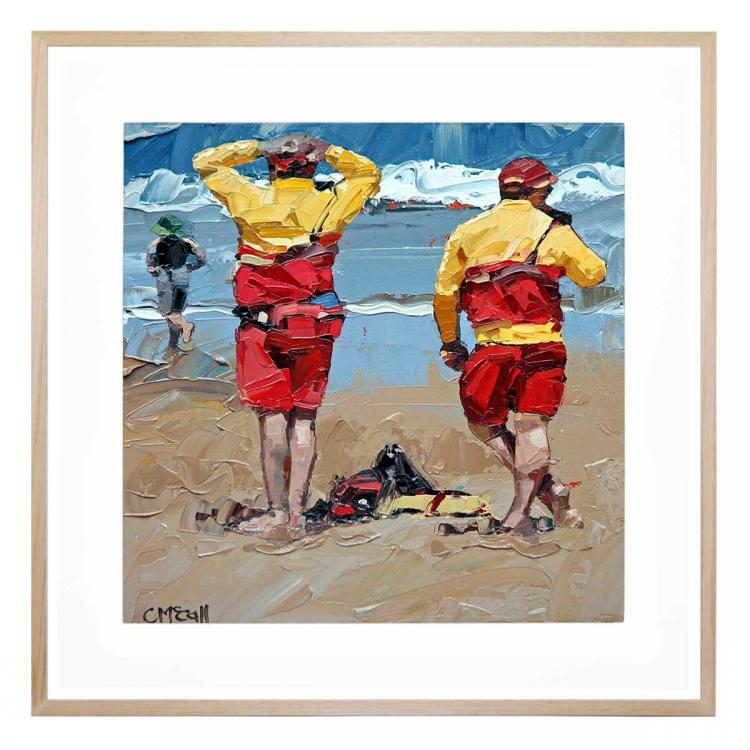 Two Lifeguards - Print