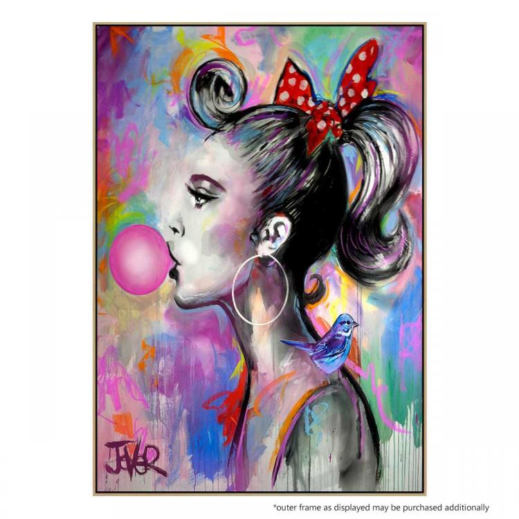 Bubble Girl - Print