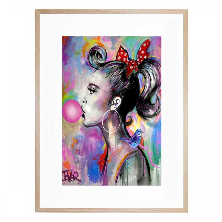 Bubble Girl - Print