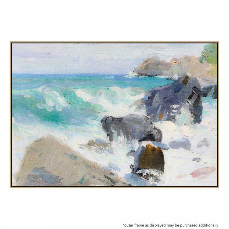 By The Rocks - Painting