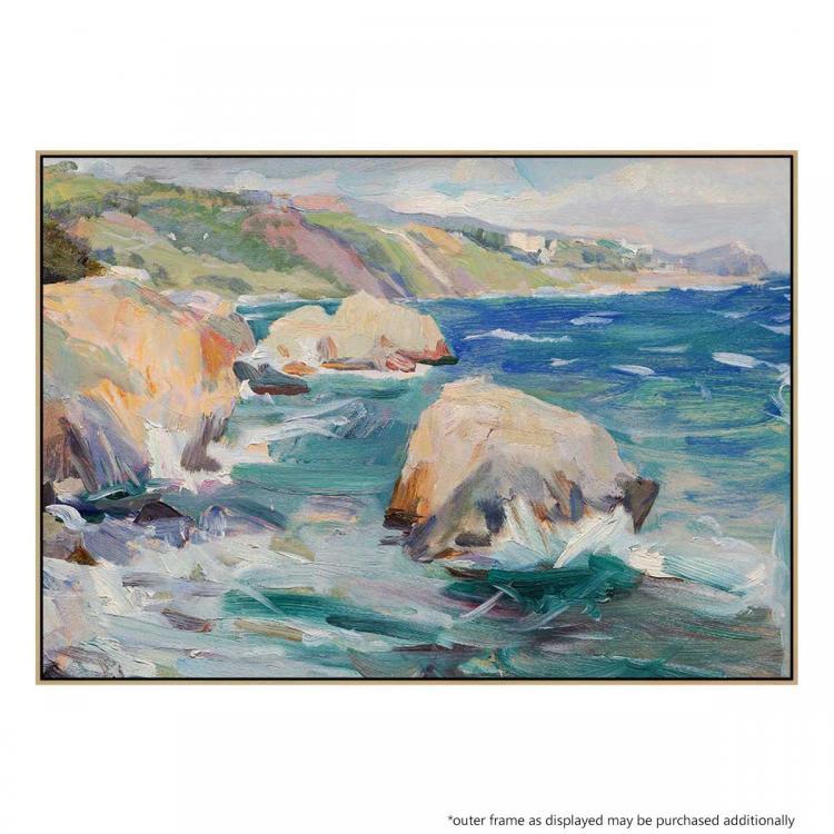 Torquay Rocks - Painting