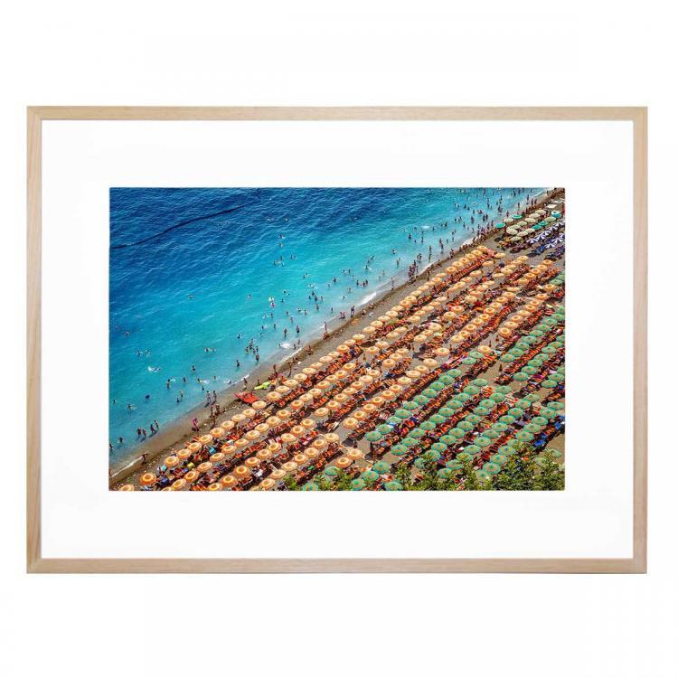 Beach Day In Positano - Print