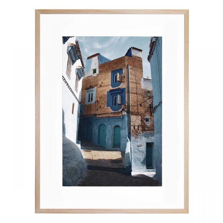 Moroccan Blue - Print