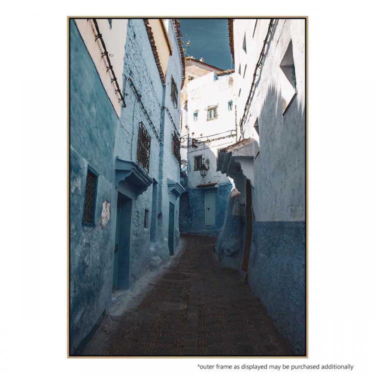 Moroccan Blue II - Print