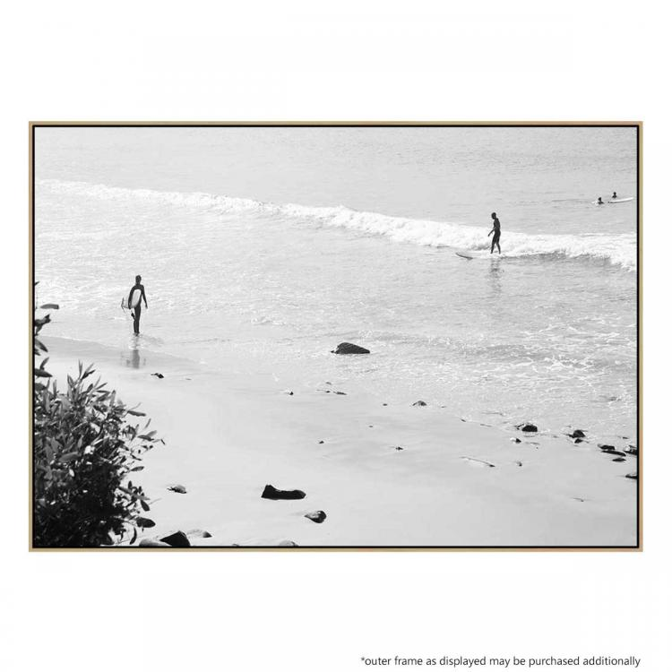 Riding The Waves - Print