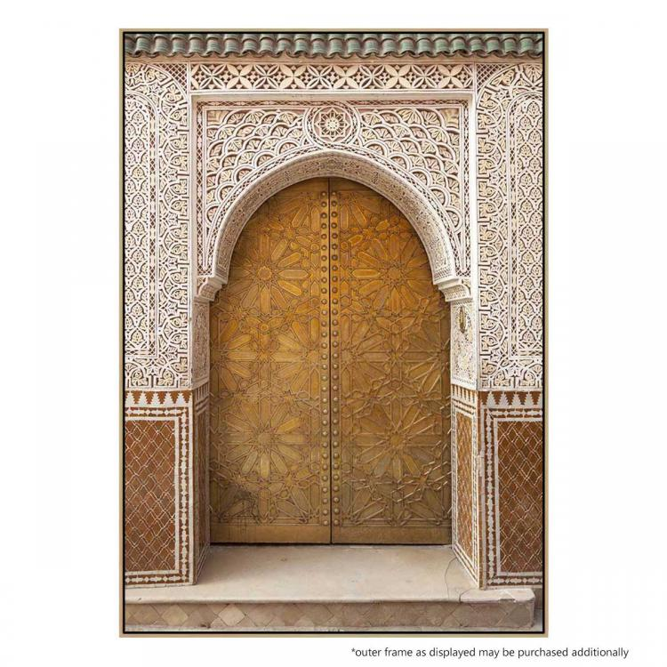 Brass Door - Print