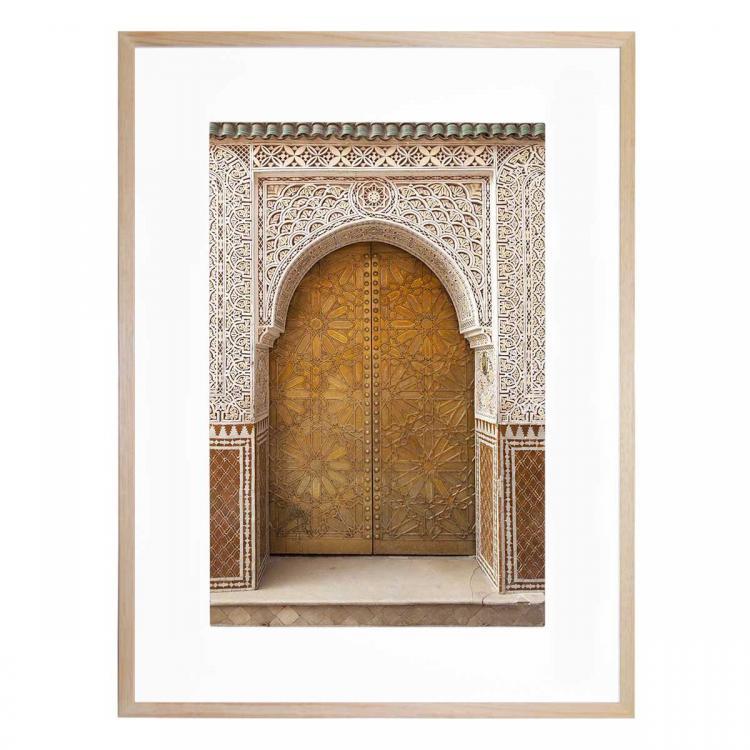 Brass Door - Print