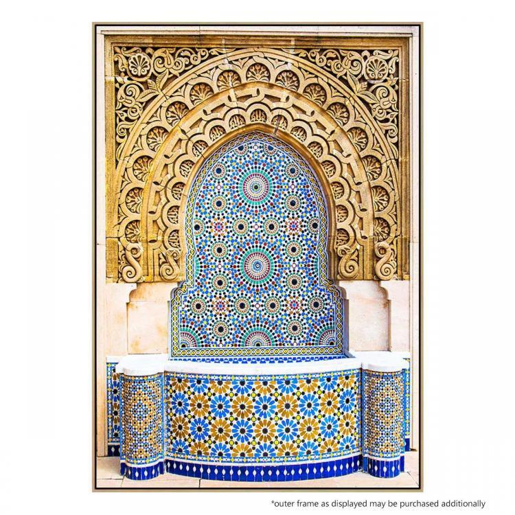 Mosaic Fountain - Print