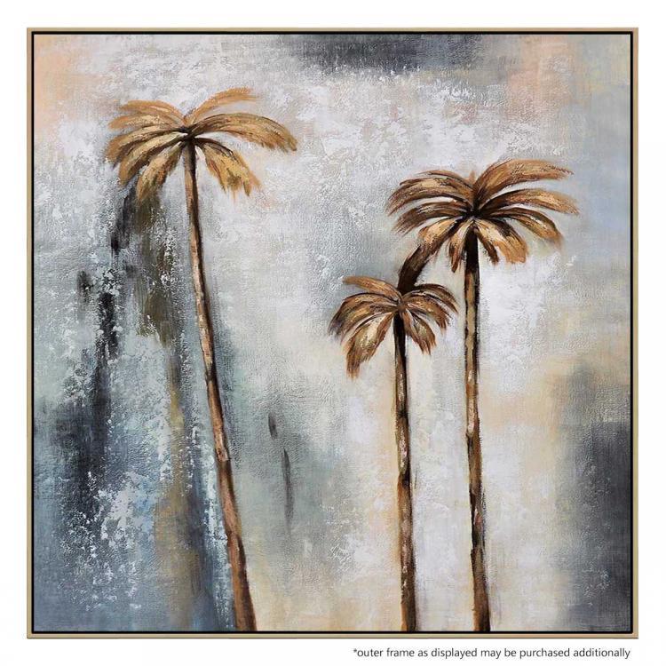 Golden Palms - Painting