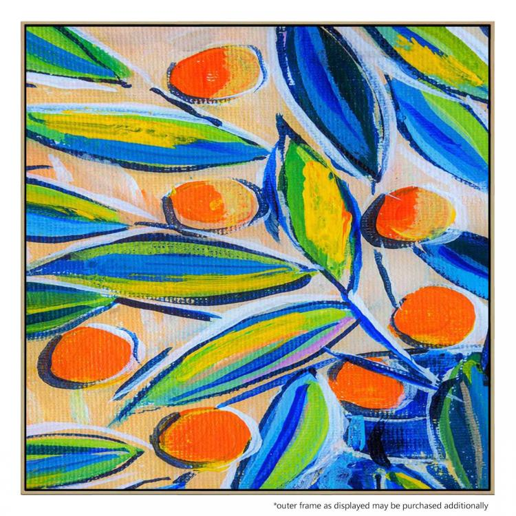 Citrus And Foliage - Painting