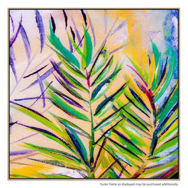 Trellis Palm - Painting