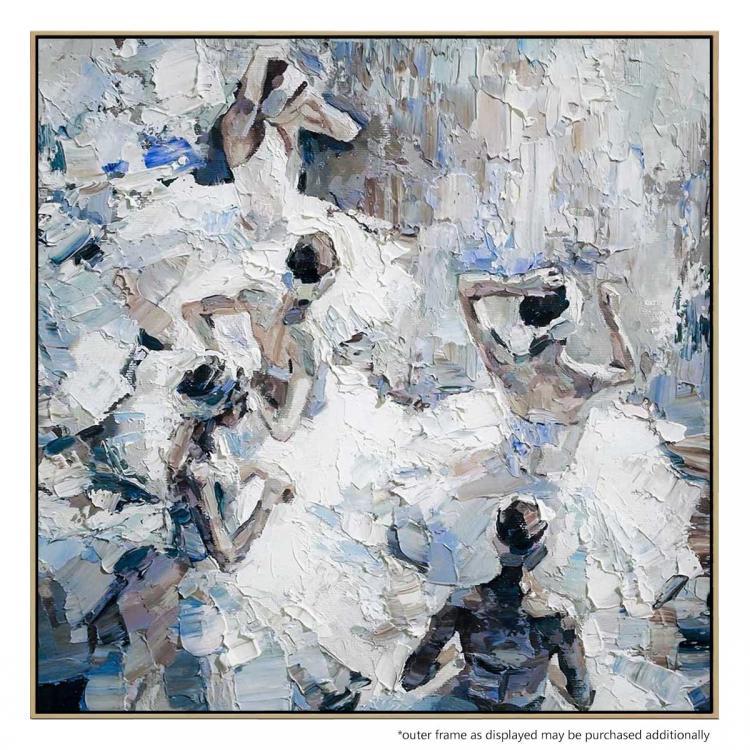 Degas Homage - Painting
