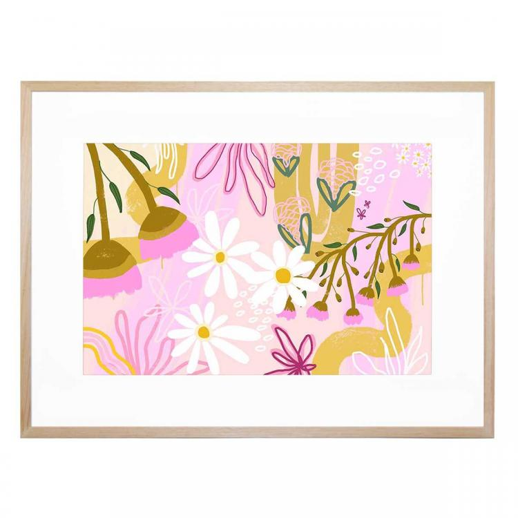 Flower in the Gums - Print