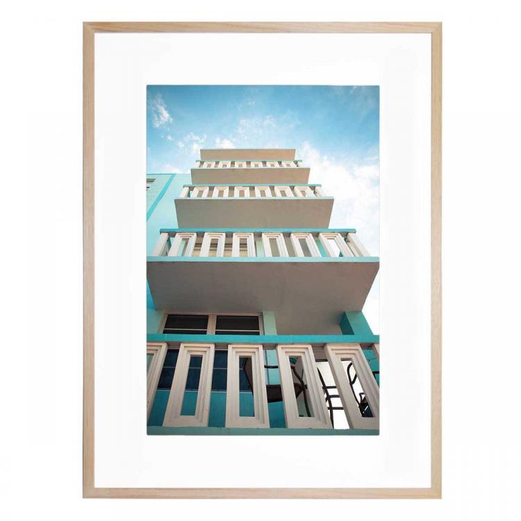Blue Blocks - Print