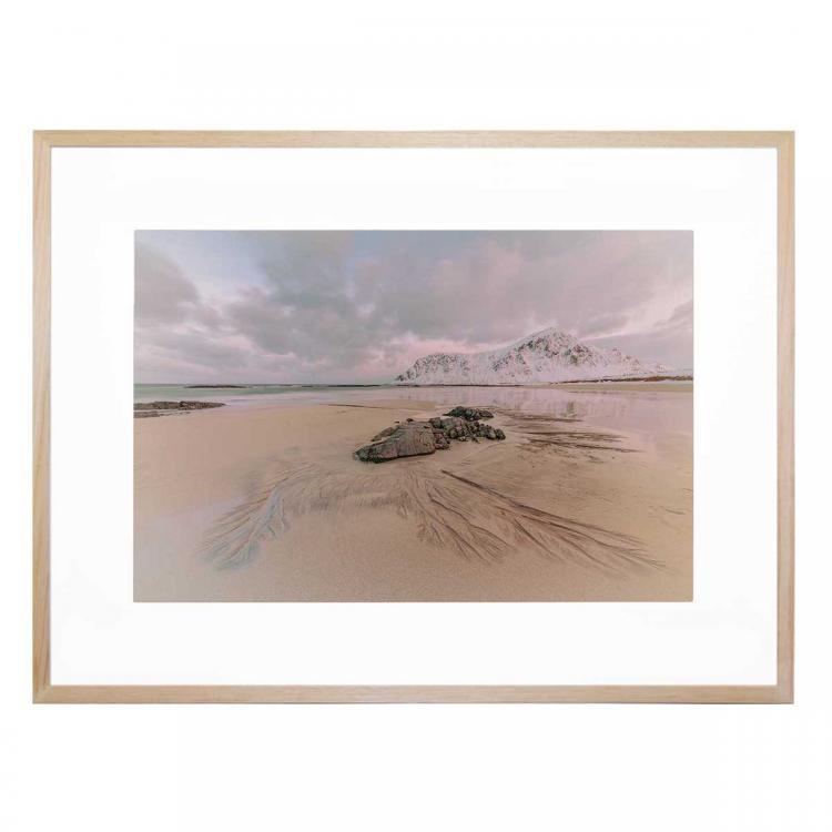 Mountain On The Beach - Print