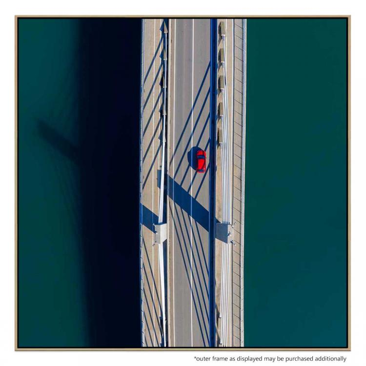 Car On The Bridge - Print