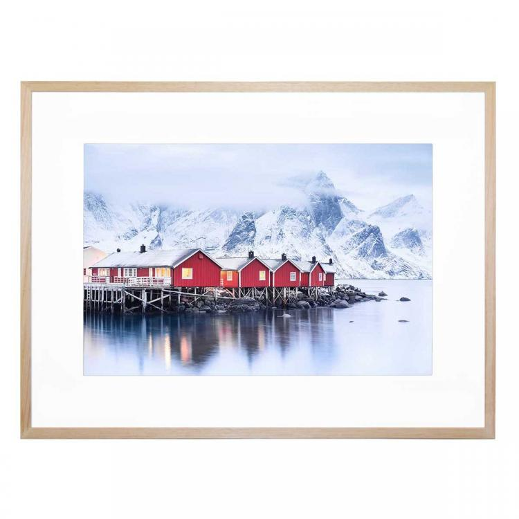Lofoten Islands Bay - Print