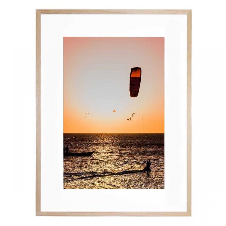 Kite Surf Sunset - Print
