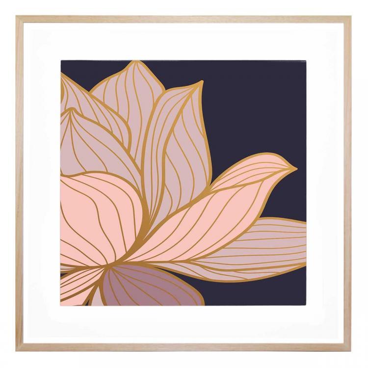 Fiore Blu 1 - Print