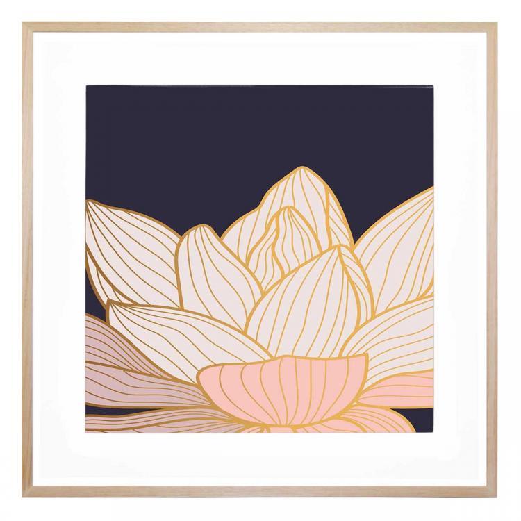 Fiore Blu 2 - Print