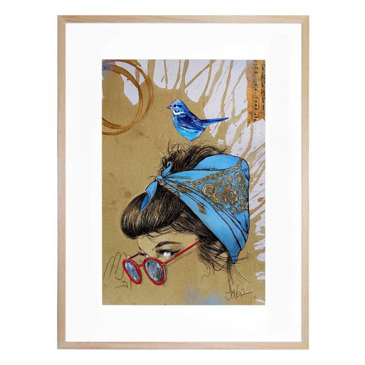 Tangled Up In Blue - Print
