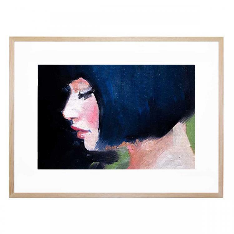 Ruby Green - Print