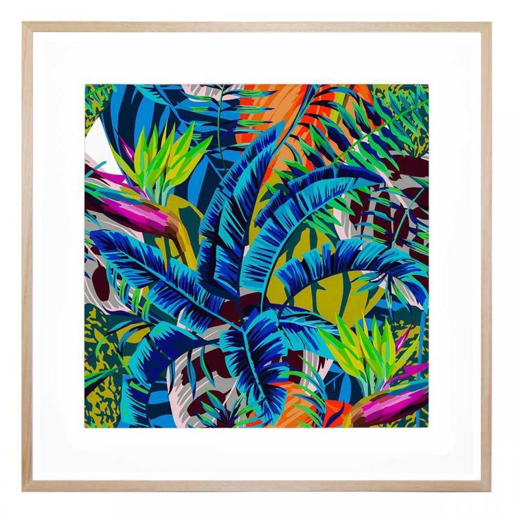 Blue Tropic - Print