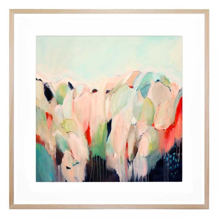 Longing For The Hills - Print