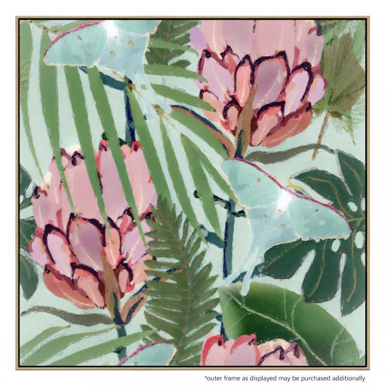 Protea In Paradise - Painting
