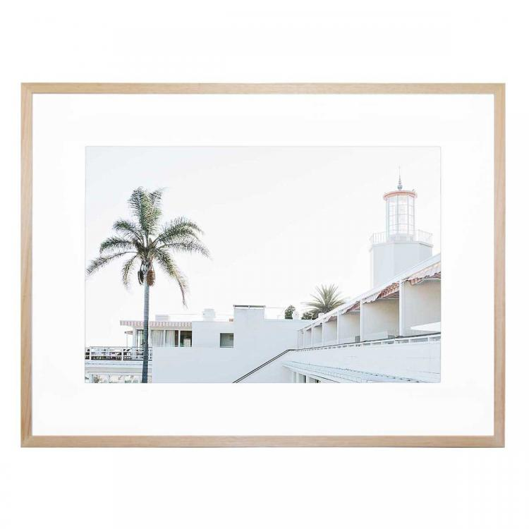 Coral Cabana - Print