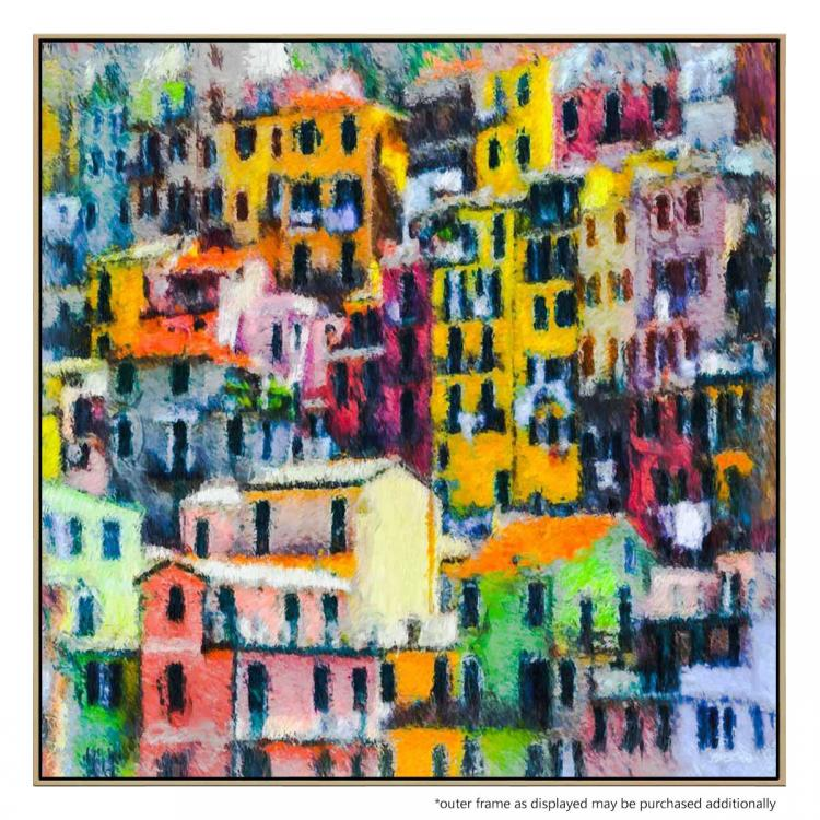 Vernazza Town - Painting